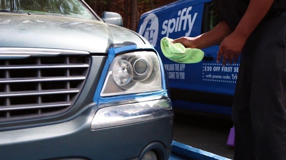 Spiffy Headlight Restoration