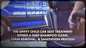 Spiffy Car Seat Cleaning Promo Commercial